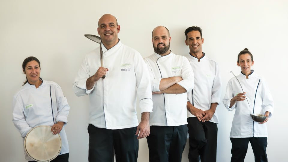 Amara Restaurant | Love | Team | Chef Nelson Candeias and his team